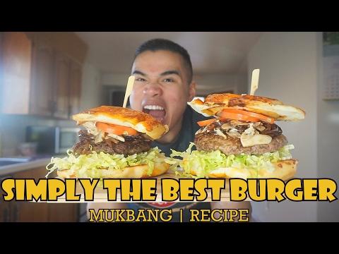 THE BEST BURGER |  MUKBANG | RECIPE | QT