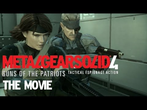 Metal Gear Solid 4 - The Movie [HD] Full Story