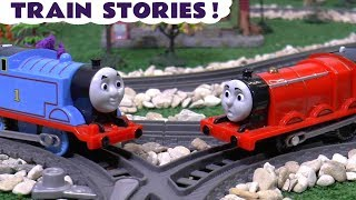 Thomas & Friends Scary Pranks Toy Stories with Dinosaurs - Toys for Kids and children TT4U
