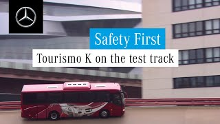 Mercedes-Benz Buses | Tourismo K on the test track