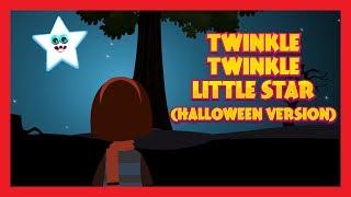TWINKLE TWINKLE LITTLE STAR (HALLOWEEN VERSION) - KIDS HUT HALLOWEEN RHYMES AND SONGS