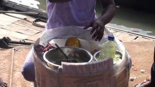 Street Food( Jhal Muri) Crispy Paffed  Rice