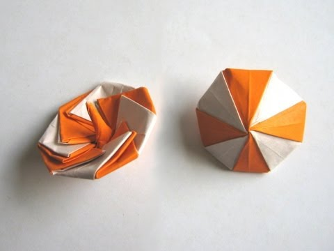 Origami Spinning Top by Manpei Arai Part 1 of 2