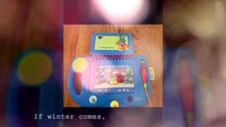 Blue My first leappad learning system from 2001