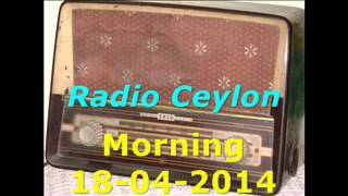 Radio Ceylon 18-04-2014~Friday Morning~01 Film Sangeet-1