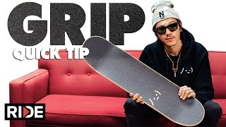 How-To GRIP a Skateboard with Spencer Nuzzi
