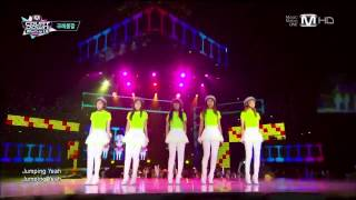 Crayon Pop in KCON 2013 M Countdown Los Angeles