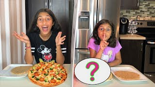TWIN TELEPATHY PIZZA CHALLENGE!! kids fun