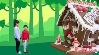 クリスマス お菓子の家 を作って 遊びに行ったよ♫ 料理 おゆうぎ こうくんねみちゃん
