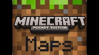 Download Mcpe maps on iOS device no jailbreak/computer