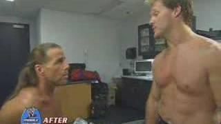 HBK vs. Y2J After Raw