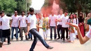 flash mob on rag day, University of rajshahi, applied chemistry; session:12-13.