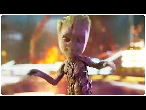 Guardians of the Galaxy 2 Dancing Baby Groot Trailer 2017 Chris Pratt Action Movie HD