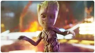 Guardians of the Galaxy 2 Dancing Baby Groot Trailer (2017) Chris Pratt Action Movie HD