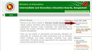 [Server Link] SSC Result 2018 | Education Board Result | BD Result Info