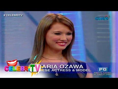 CelebriTV Maria Ozawa