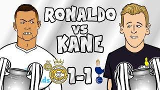 🎙️RONALDO vs KANE🎙️Real Madrid vs Tottenham 1-1 (Champions League Parody 2017)
