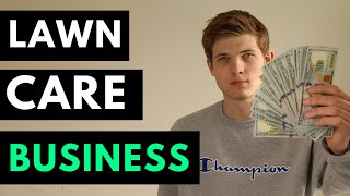 How To Make $300 A Day Mowing Lawns || Start A Lawn Care Business