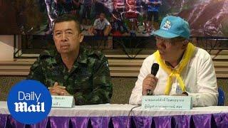Four boys arrive at the hospital from Thai flooded cave