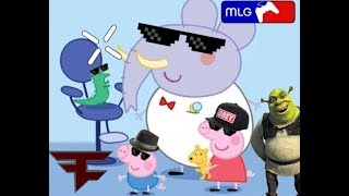 Mlg Peppa pig goes to the dentist