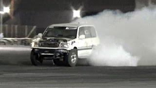 استعراض جي اكس تيربو في حلبة قطر