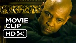 The Equalizer Extended Movie CLIP- Here For The Girl (2014) - Denzel Washington Movie HD