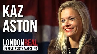 Kaz Aston - Thriving with Multiple Sclerosis - PART 1/2 | London Real