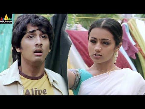 Xxx Mp4 Nuvvostanante Nenoddantana Movie Trisha Amp Siddharth Comedy Telugu Movie Scenes Sri Balaji Video 3gp Sex
