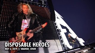 Metallica: Disposable Heroes (Madrid, Spain - May 3, 2019)