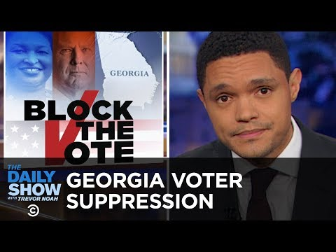 Xxx Mp4 GOP Voter Suppression Ramps Up In Georgia The Daily Show 3gp Sex
