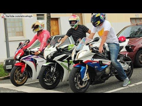 Bikers 76 Honda CBR 1000RR Burnout & RL Kawasaki BMW Yamaha Suzuki Ducati & MV Agusta