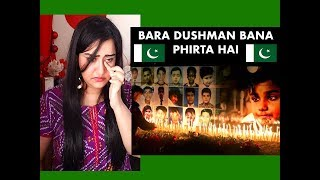Indian Girl Reacts on BARA DUSHMAN BANA PHIRTA HAI | Reaction |