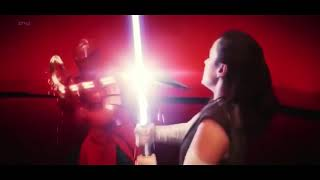 Star Wars The Last Jedi- Rey and Kylo vs Praetorian Guards