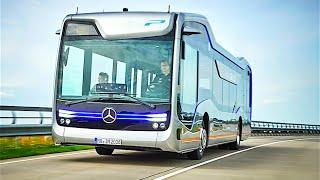 Mercedes Self Driving Bus Official Commercial Mercedes Future Bus 2016 Autonomous Bus CARJAM TV