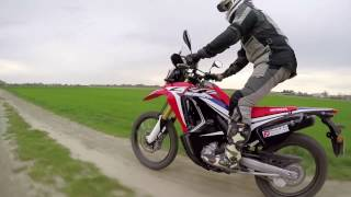 Honda CRF 250 Rally: Epic offroad adventure riding!