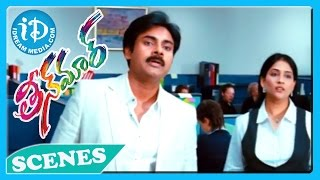Pawan Kalyan Emotional Scene - Teenmaar Movie