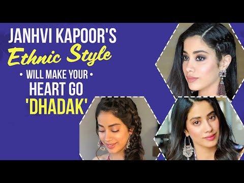 Xxx Mp4 Dhadak Debutant Janhvi Kapoor Rocks In Her Ethnic Looks Pinkvilla Bollywood 3gp Sex