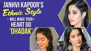 Dhadak Debutant Janhvi Kapoor Rocks In Her Ethnic Looks! | Pinkvilla | Bollywood