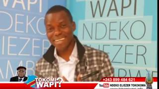 TOKOMI WAPI 17 09 2018 CONGO EZO KENDE WAPI?