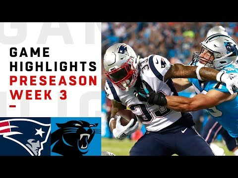 Xxx Mp4 Patriots Vs Panthers Highlights NFL 2018 Preseason Week 3 3gp Sex