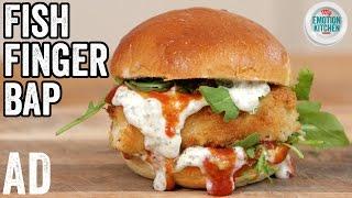FISH FINGER SANDWICH RECIPE    EMOTION COOKBOOK #2 CELEBRATION #ad