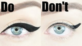 Winged Eyeliner Dos and Don'ts   STEPHANIE LANGE