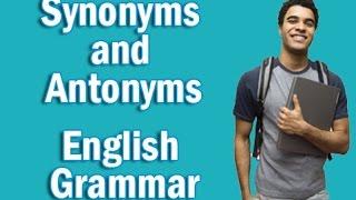 Basic English Grammar in Hindi   Synonyms and Antonyms