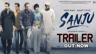 Sanju Trailer out   Ranbir Kapoor   Rajkumar hirani   Sanjay Dutt Biopic