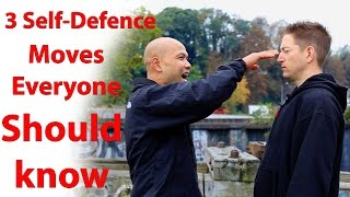 3 self defence moves everyone should know