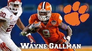 Wayne Gallman    Impact Running Back    NFL Draft Class 2017