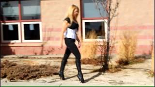 Ballet Boots Walking