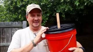 DIY Washing Machine Bucket by Jim Weaver