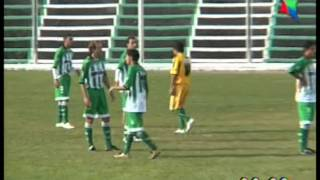 Gol insolito de Germinal a La Ribera 2012