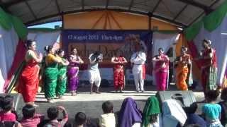 Tamasha Performance by MMSA Team at India Day 2013